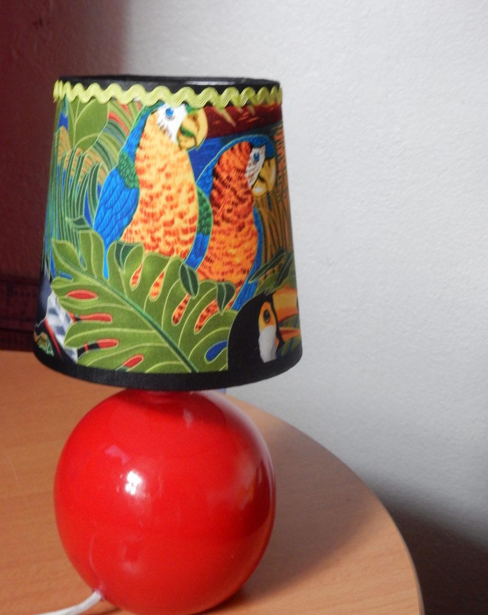 Abat-jour Le perroquet