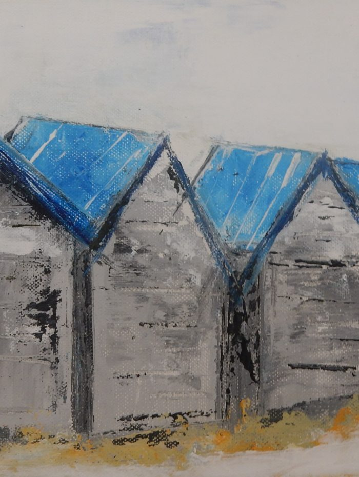 Cabanes bleues