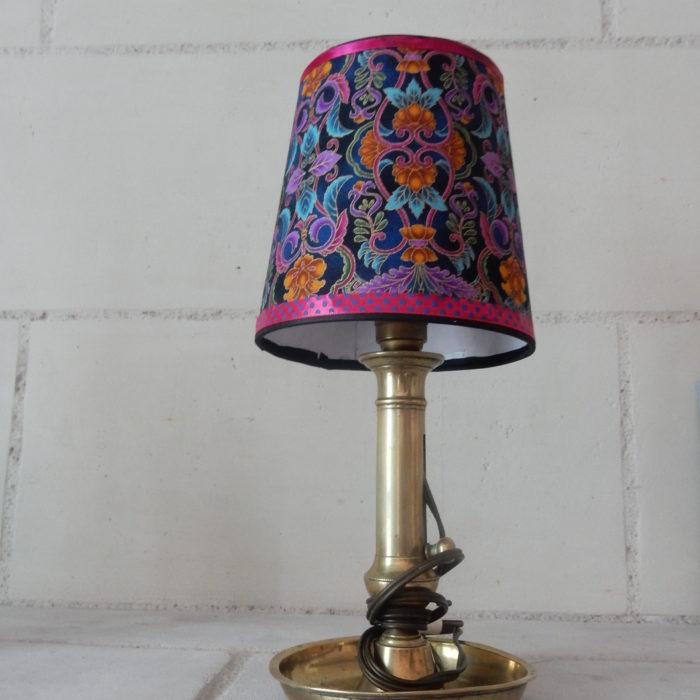Alizarine Création La lampe fleurie