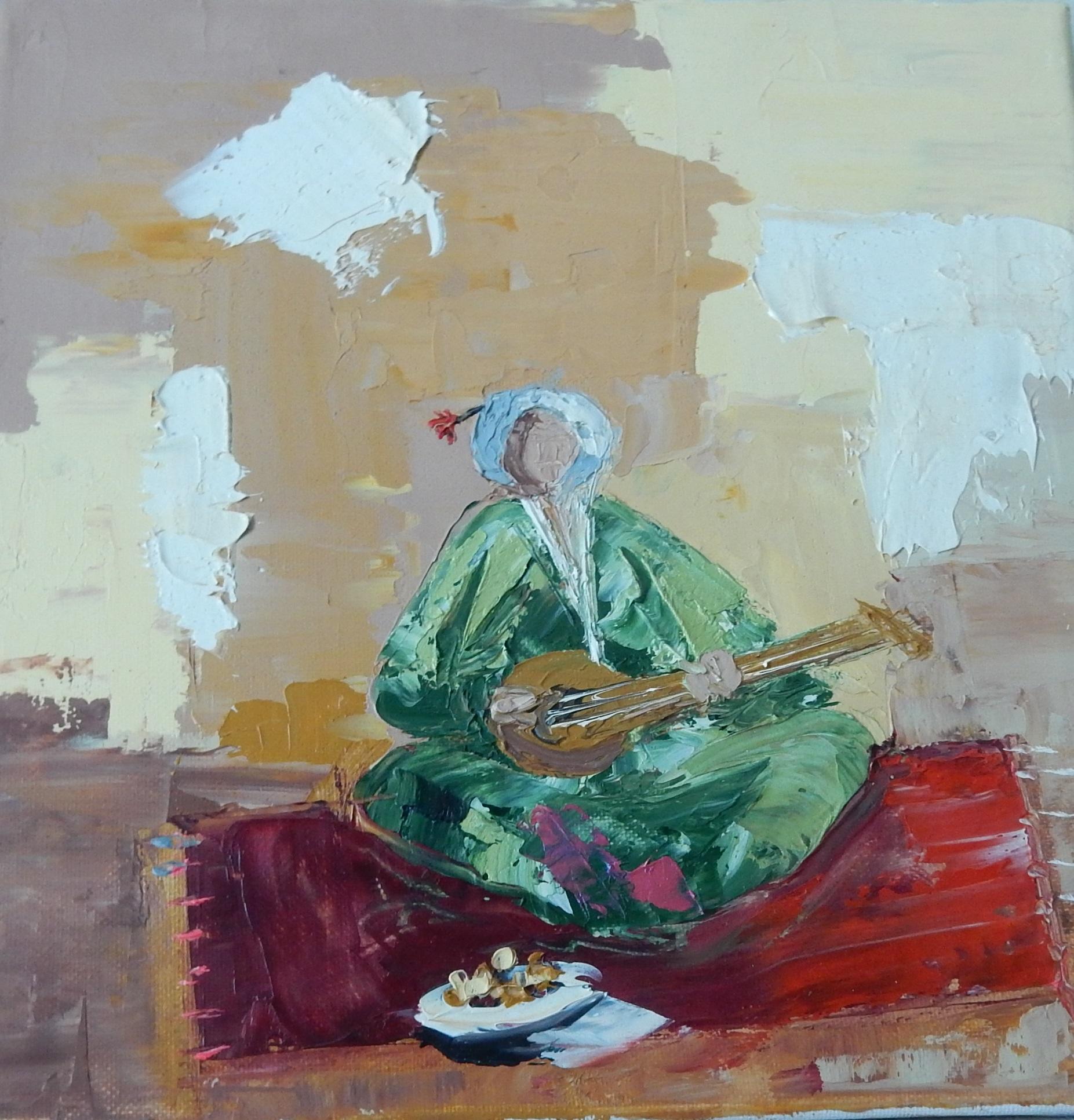 Un musicien Marocain