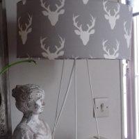 lampe avec des cerfs