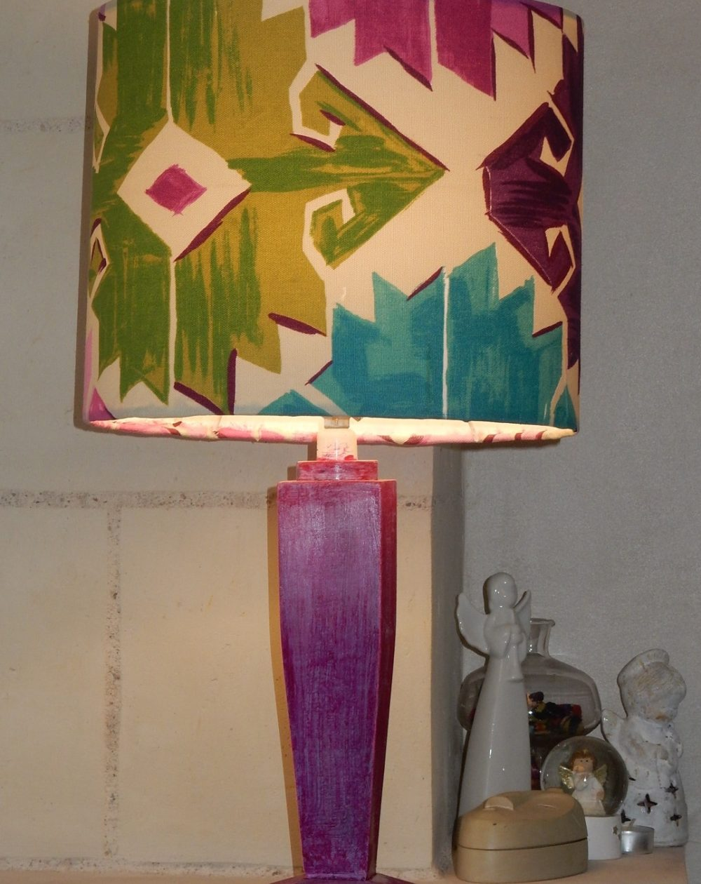 lampe aztèque